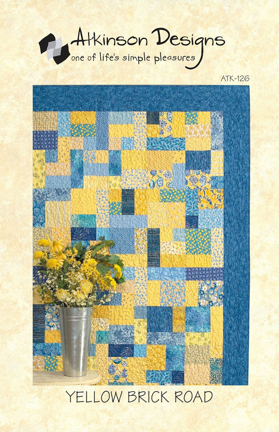 SALE Yellow Brick Road Quilt Pattern Atkinson Designs-126