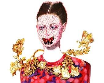 Fashion Illustration - Giambattista Valli