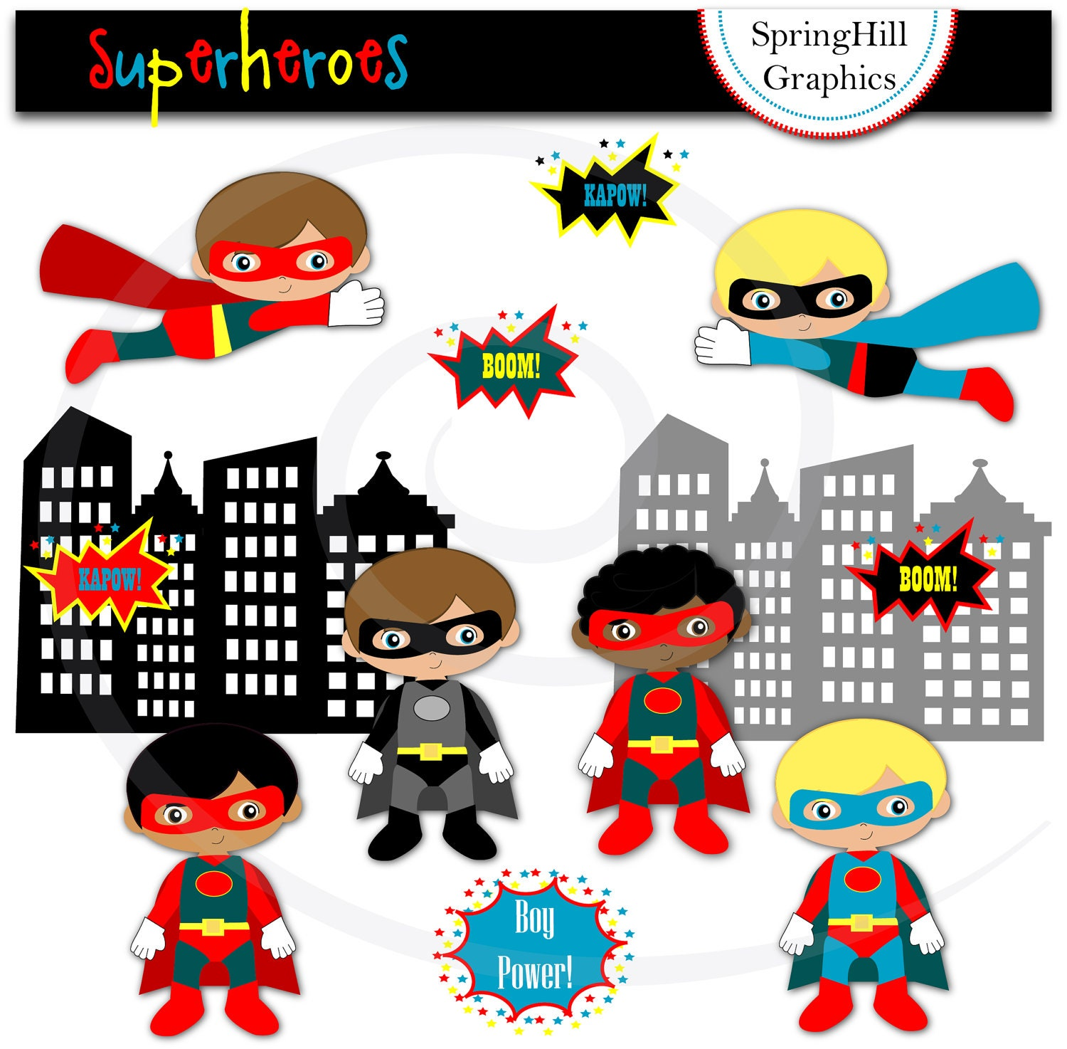 superhero clipart free download - photo #2