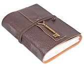 Brown Vegan Faux Leather Journal