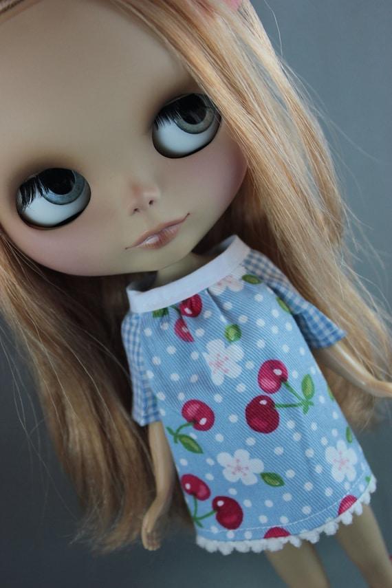 Blythe Smock Style Dress - Cherry Blossom