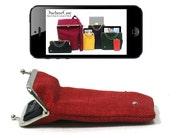 iPhone 5 case RED gold / silver - FREE DELIVERY - Duchess case for iPhone
