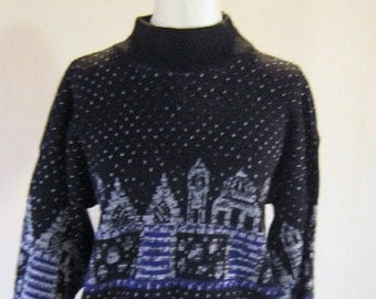 Arabian Nights Temple Sweater Shirt Top