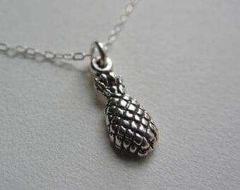 Tiny Pineapple Necklace