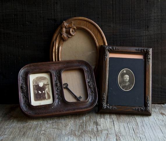Vintage Wooden Frame Collection - Victorian Floral