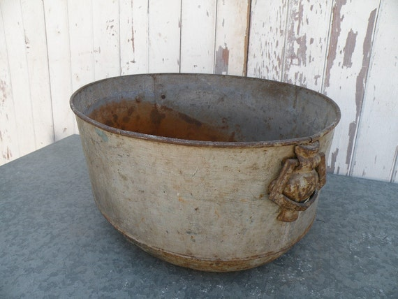 Reserved for Cheryl Vintage boiler pan