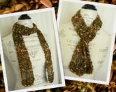 Rosario Luxury Knit Scarf - Handmade - Ready to Ship