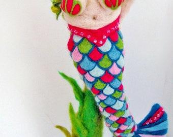 Custom Mermaid or other needle felted creation