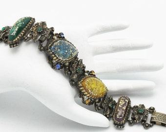 Selro Bracelet Vintage Confetti Cabochons