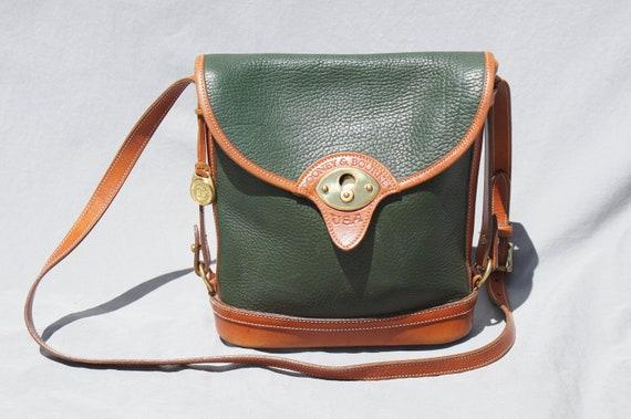 Dooney Bourke Spectator forest green purse