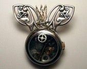 Custom for Jasmine S. (Frank the steampunk bunny)