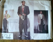Vogue men's costume pattern size 38-40-42 Zoot suit pattern