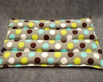 Microwave Heating Pad, Lumbar Corn Bags, Corn Heating Pad, Microwave Heat Pack, Corn Heated Bag -- Lumbar 10x16 -- Skipping Stones