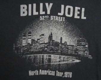 Original BILLY JOEL vintage 1978 tour TSHIRT