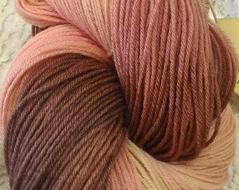 French Pastille Merino and Silk Fingering Sock Yarn