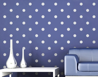 Polka Dot Stencil for Walls - Large, Reusable Wall Stencil for Home Decor DIY wall decor