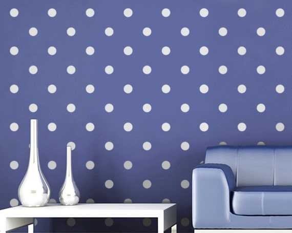 Polka Dot Stencil for Walls - Large, Reusable Wall Stencil for Home Decor