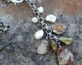 Cascading Stone Necklace