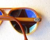 Vintage Vuarnet Aviator Sunglasses Ski Glasses