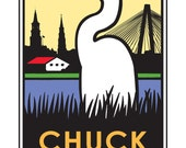 Chuck Town - Limited edition print