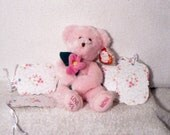 Pink Rose Gift Tags - 1 Dozen
