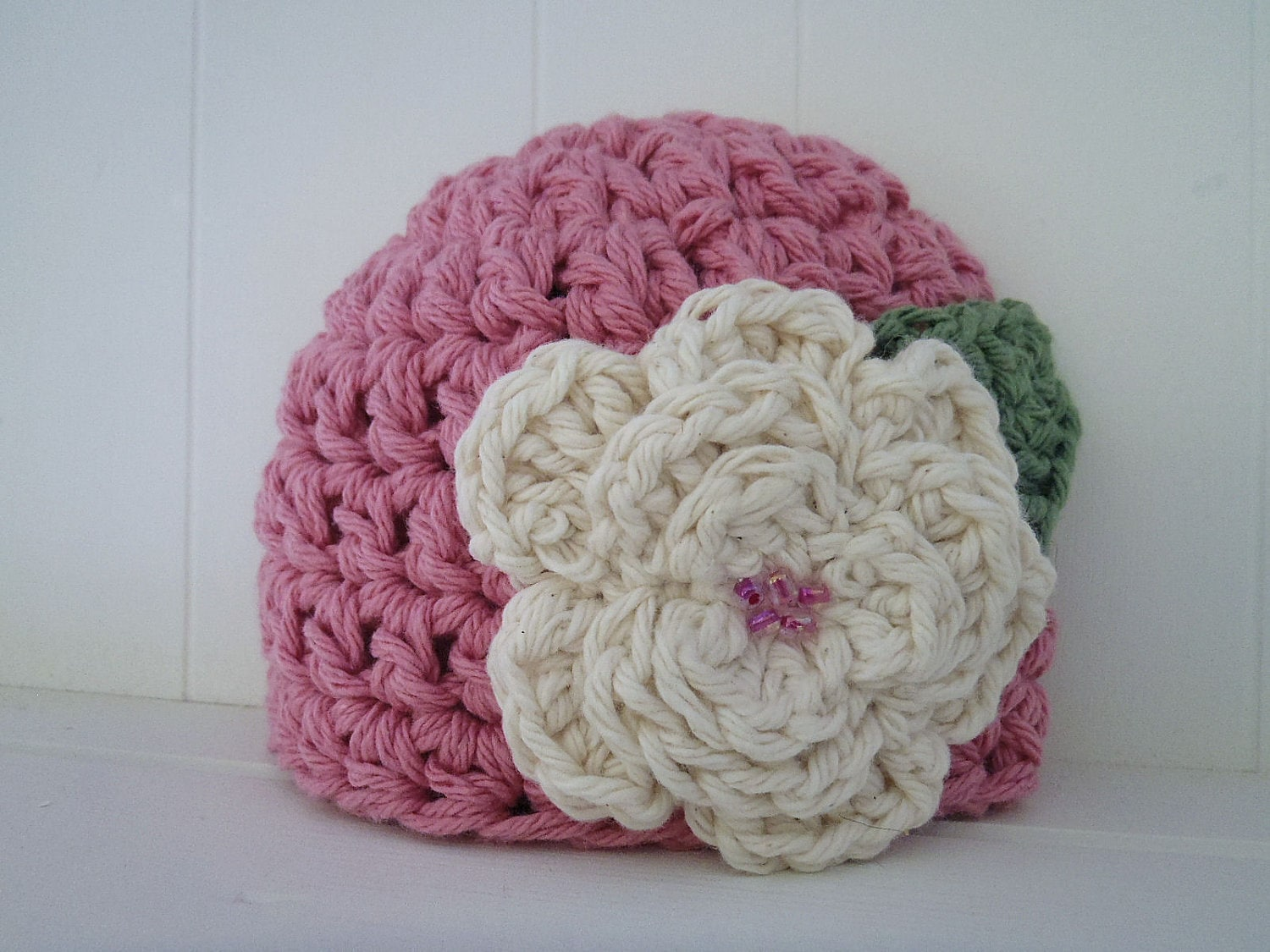 Free Crochet Pattern Chunky Baby Hat : Crochet Pattern Chunky Basic Beanie Hat Newborn to Adult