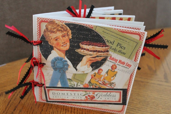 Scrapbooking Birthday 6x6 Premade Paper Bag Album Hot Cocoa Photo Books