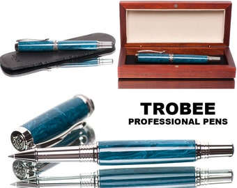 High quality handcrafted rollerball pen made with exquisite Italian resin from Montegrappa the famous pen company roller pen writes smooth