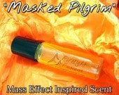 "Tali Inspired Perfume Oil - ""Masked Pilgrim"" - Mass Effect 3"