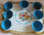 Ohio Art Tea Set, Collectible Children's Tea Set