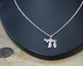 """chai,  solid  sterling silver whith 16"""" chain"""