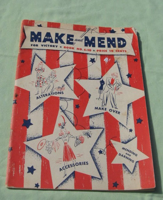 Make and Mend for Victory book no. s-10
