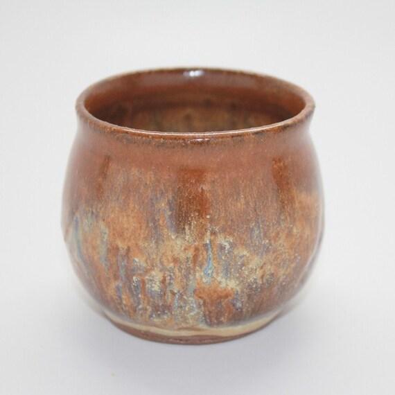 Honey Gold Sencha Cup or Small Tea Bowl
