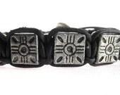 5 Star bracelet Black  (B 071 BL)