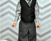 Little Gentleman Pants and Vest: boys pants pattern, boys vest pattern, boys suit pattern