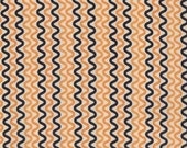 SALE 1 Yard The Boo Crew Tricky Orange by Sweetwater  for Moda