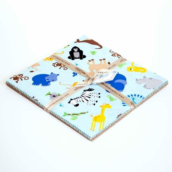 "10"" Stacker Bundle of Zoofari by Doodlebug Design for Riley Blake"