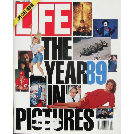Special Issue LIfe Magazine January 1990 The Year 89 in Pictures