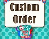 Cutom Order Fabric Flag Banner/ Garland/ Pennant Bunting