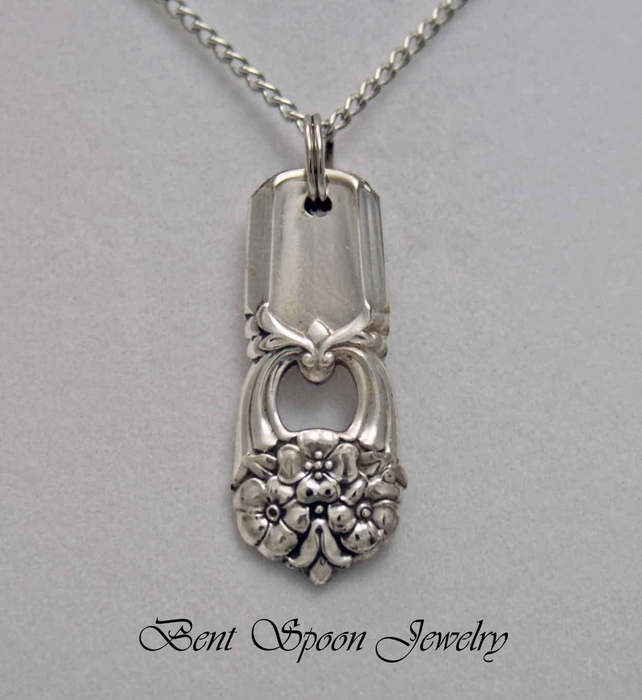 Spoon Jewelry Spoon NECKLACE Pendant Silverware Jewelry