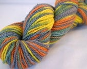 Hand Dyed Yarn MMR Worsted Goldfinch