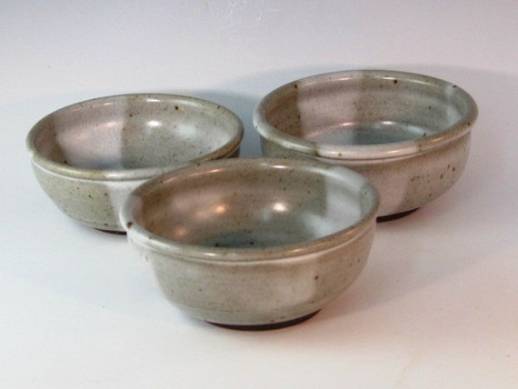 Three Piece Condiment  Bowl Set...RESERVED FOR TRACY