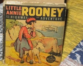 1938 Little Annie Rooney on the Highway to Adventure, The Big Little Book