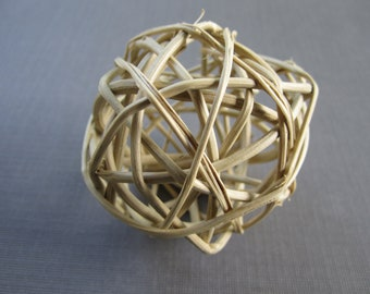 "Twig Balls - 2""  - Set of 6 - Medium size"