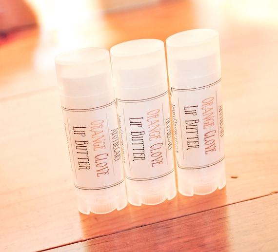 Orange Clove  Lip Balm - Autumn Lip treatment