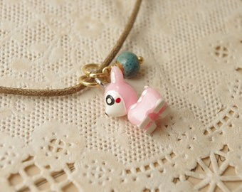 Pink Little Deer Necklace