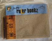 Tim Holtz  5 x 4 Ruler Bookz by Junkitz  No. 039
