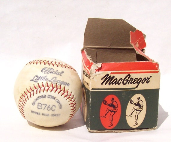 Vintage Offical Little League Baseball MacGregor / Brunswick B76C Number 1
