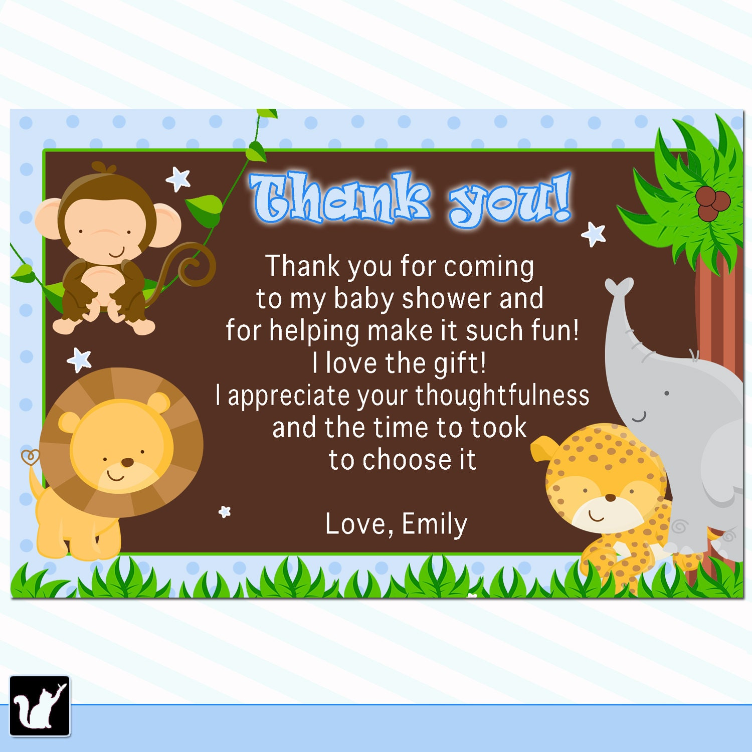 thank you note baby gift ideal vistalist co