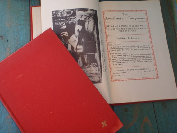 Vintage The Gentleman's Companion Volume I & II Exotic Drinking and Exotic Cookery Books 1946
